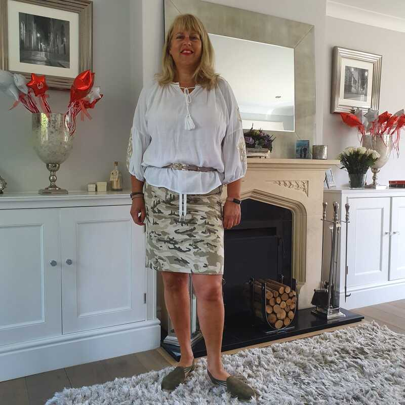 camo skirt from love the wendy house
