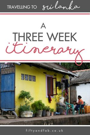Guide to creating a travel itinerary for a three-week trip to Sri Lanka