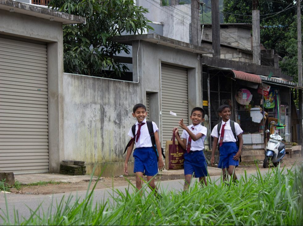 school boys in sri lanka