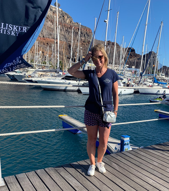 winter sun in la gomera and talisker whiskey atlantic challenge