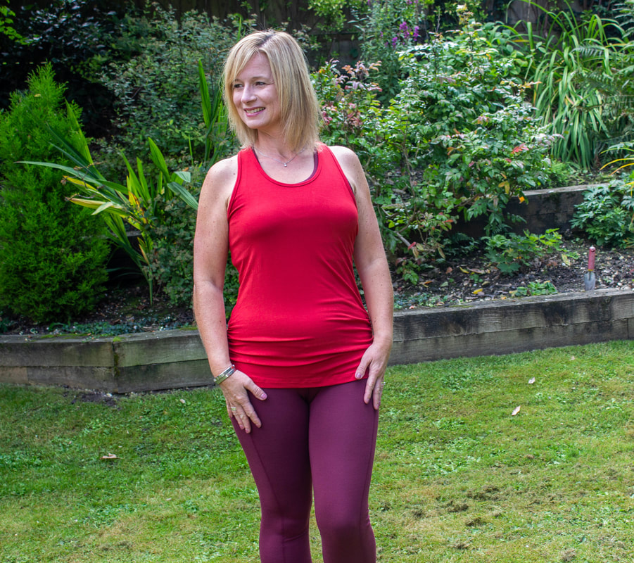 modelling asquith ethical workout clothes