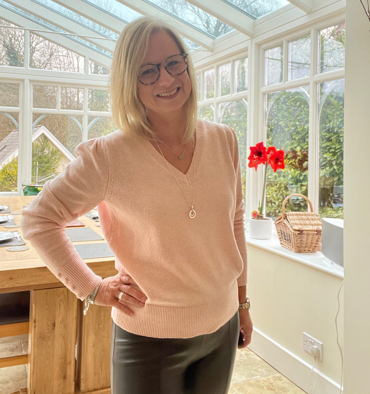 Peach jumper from M&S