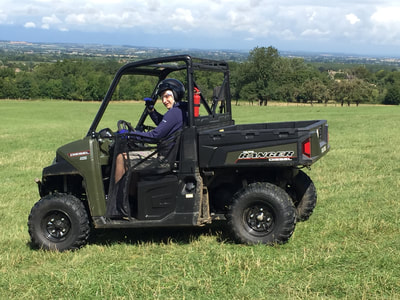 all terrain vehicle cotswolds