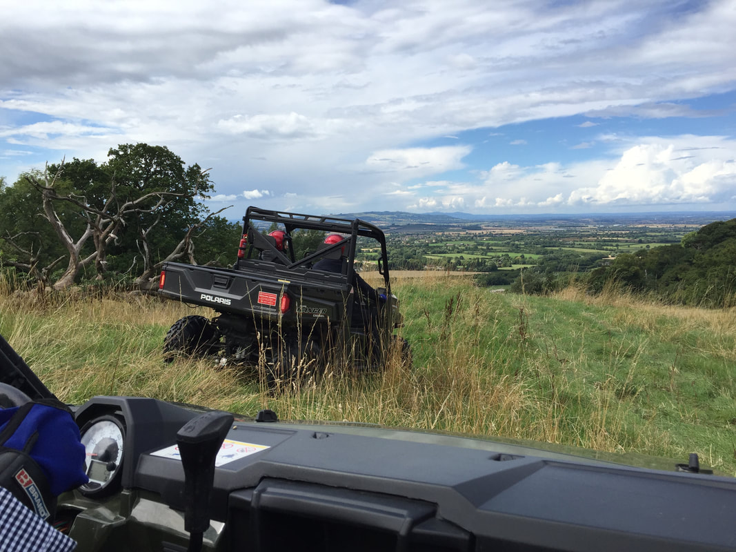 all terrain vehicles in the cotswolds