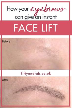 Having your eyebrows tidied, either by shaping and tinting, or microblading for longer-lasting results, can give an instant face lift - perfect for more mature ladies! #maturebeauty