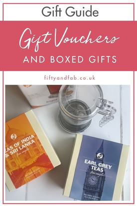 Christmas gift guide - gift vouchers and boxed gifts #giftguide #Christmas