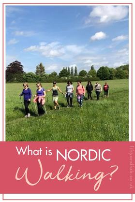 What is Nordic Walking? Find out what happens in a Nordic Walking class and how it can benefit your health #walking #fitness #over50s