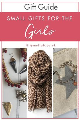 Christmas gift guide - small gifts for the girls - accessories, jewellery, scarves and more #Christmas #giftguide #accessories