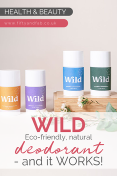 Eco-friendly, natural deodorant from Wild
