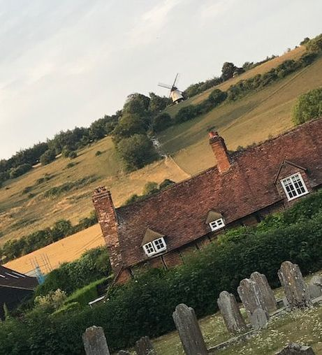the windmill at turville used in film chitty chitty bang bang